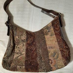 Fossil Vintage style Carpet bag
